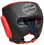 CUSTOM Sparring Leather Headgear-cheek only