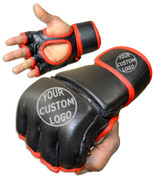 CUSTOM Kids MMA Grappling Gloves