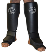 CUSTOM Grappling Shin instep - Stretchable Coverd Back