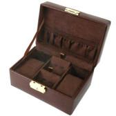 Watches CuffLinks Storage Travel Case