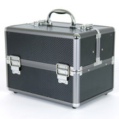 Aluminum Makeup Train Case to Store and Organize Makeup Jewels