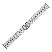 Stainless Steel Watch Band With Fold Over Clasp 18 mm