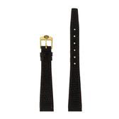 Gucci Watch Band 14mm Brown Genuine Lizard 7200L