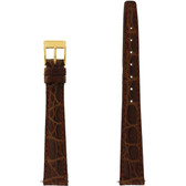 Gucci Watch Band 14mm Tan Genuine Leather 2600L