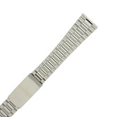 Oyster Style Link Metal Stainless Steel Watch Band MET241