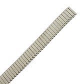 Watch Band Expansion Metal Stretch Silver Color 15mm MET160