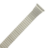 Watch Band Expansion Metal Stretch Silver-Tone