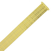Watch Band Expansion Metal Stretch Gold-Tone fits 17-21mm TSMET202