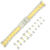 2 Toned Metal Watch Band