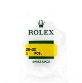 Original Rolex Crystal 25-22