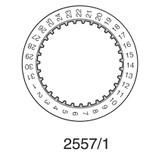 Valjoux ETA 7750 Date Disc Black
