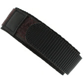 22mm Velcro Watch Band | 22mm Black Brown Contrast Sport Strap | 22mm Sport Watch Band | Watch Material VEL100BRN-22 | Main