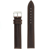 leather watch band brown 19mm 21mm