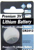 PANASONIC CR2412 Battery - Main
