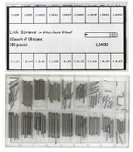 Watch Link Screw Assortment in Stainless Steel - Main