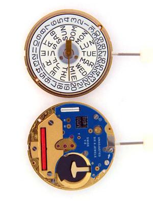 ETA 255 421 Quartz Watch Movement - Main