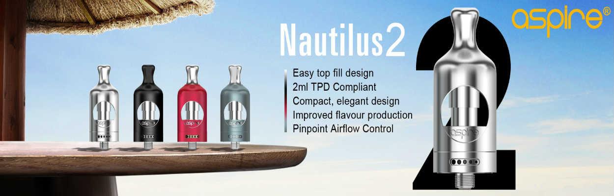 Aspire - Aspire Nautilus 2 for ecigforlife