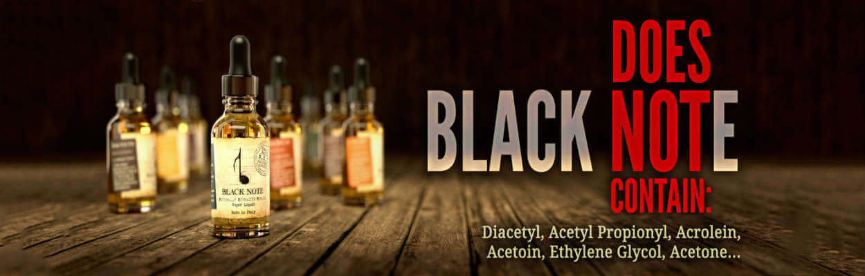 Black Note high quality eliquid for ecigforlife