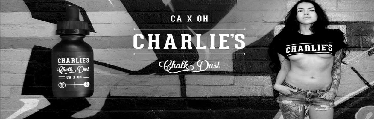 Charlies Chalk Dust eliquids for ecigforlife