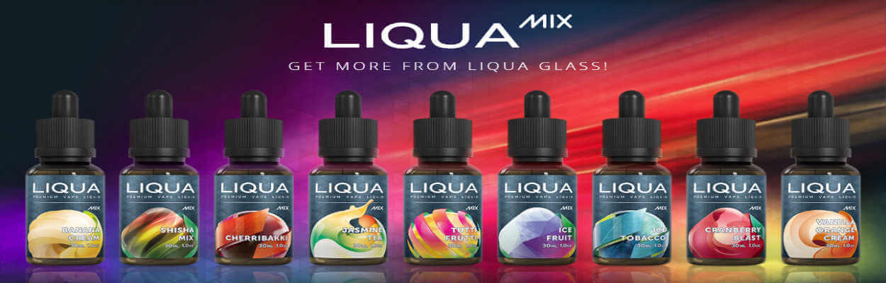 Liqua Mix eliquids for ecigforlife
