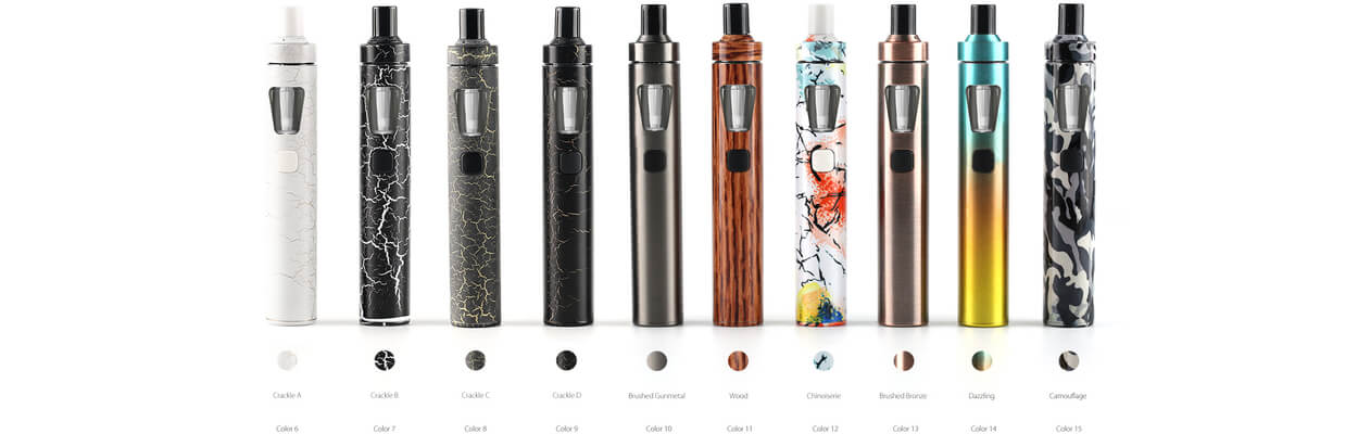 ego aio latest colours for ecigforlife