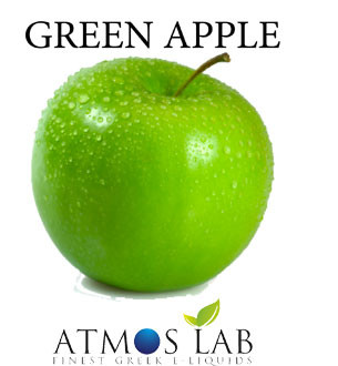 Atmos Lab Green Apple european quality ejuice eliquid
