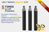 eGo battery electronic cigarette starter kits