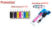 evod starter kit new e cigarette starter kits