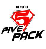 five pack dessert personal vapourizer eliquid
