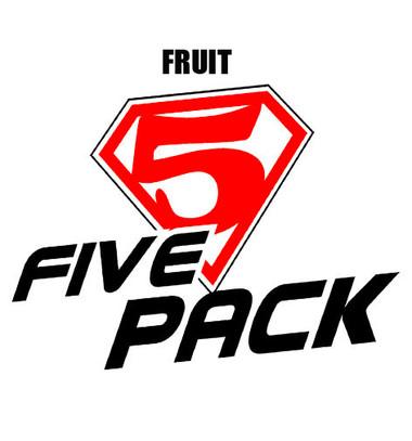 five pack fruit personal vapourizer eliquid