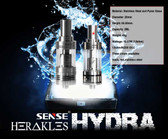 Hydra Sense clearomiser for ecigforlife