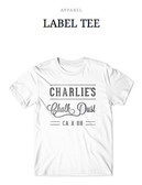 Charlie's Chalk Dust Apparel White Tee