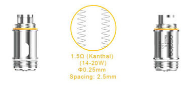 Nautilus X U-Tech Coils for ecigforlife