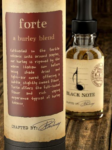 Black Note forte for ecigforlife
