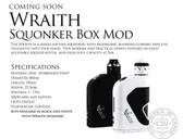 wraith c.o.v squonker box mod for ecigforlife
