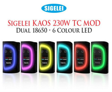 Sigelei Kaos Spectrum 230W TC VW Variable Wattage Mod