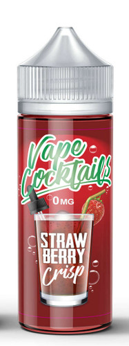 Vape Cocktails- StrawberryCrisp - 100ML