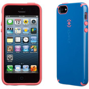 Speck Products CandyShell Case for iPhone 5/5s - Harbor Blue/Coral Pink