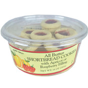 Trader Joe's All Butter Shortbread Cookies with Apricot or Raspberry Filling