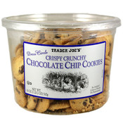 Trader Joe's Crispy Crunchy Chocolate Chip Cookies 18 Oz