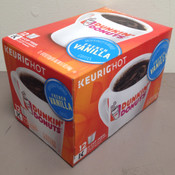 Dunkin Donuts  French Vanilla K-Cups Coffee for Keurig K-Cup Brewers 12 Ct.
