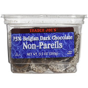 Trader Joe's 73% Belgian Dark Chocolate Non-Pareils
