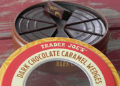 Trader Joe's Dark Chocolate Caramel Wedges (3.5 Oz)