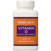 Trader Joe's Vitamin D-3 1000iu	180softgels
