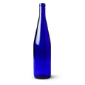 750 ml Wine Bottles, Cobalt Blue Hock Style Cs/12