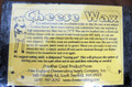Cheese Wax, Black 1 lb