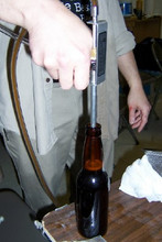 Original BeerGun in use.