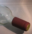 Shrink Wrap Wine Bottle Toppers/30- Burgundy