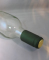 Shrink Wrap Wine Bottle Toppers/30- Metallic Green