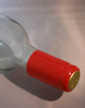 Shrink Wrap Wine Bottle Toppers/30- Red
